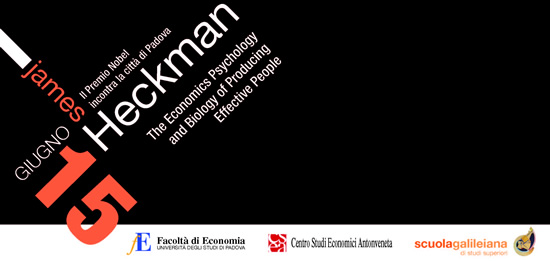Conferenza: The Economics, Psychology and Biology of Producing Effective People