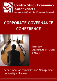 Conferenza: Corporate Governance